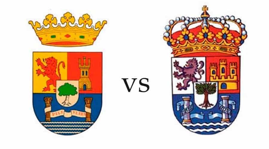Escudo de Extremadura versus