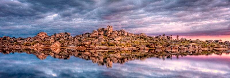 Los BArruecos monumento natural de Extremadura