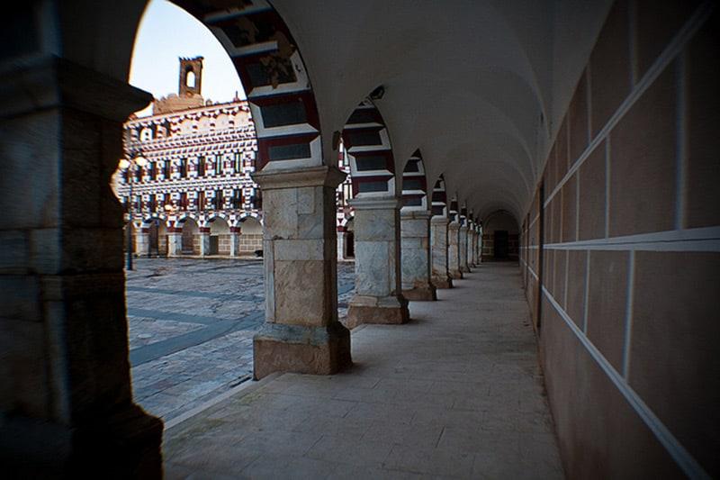 Soportales de la Plaza Alta de Badajoz