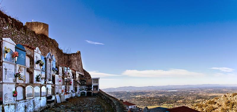 Cementerio más bonito de España cementerio con encanto de Montánchez